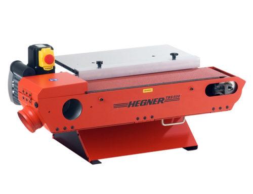 Die Tischband-Schleifmaschine TBS 500 von Hegner