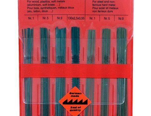 Sägeblätter für Feinschnittsägen und Laubsägebögen