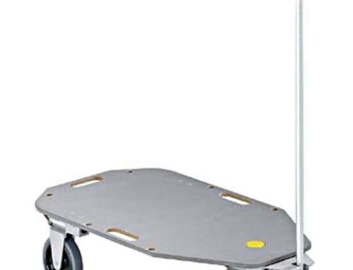 Der Transportwagen TTopCart: Stabil, wendig und einfach zu verstauen